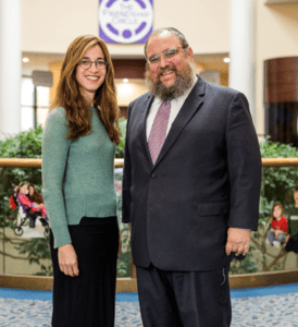Bassie and Rabbi Levi Shemtov