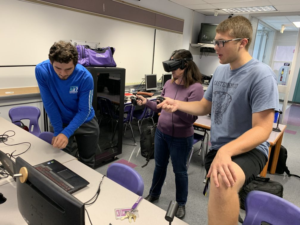 Nanome VR in Barberton High School