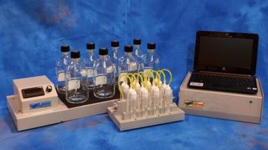 multibottle respirometer