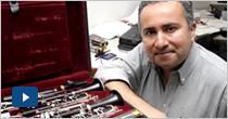 """En todo el mundo se """"lee"""" el clarinete de Javier Asdrúbal Vinasco"""