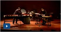 Concierto Piano y Percusión Profesores de Musica Universidad EAFIT