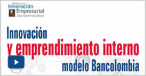Innovación y emprendimiento interno. Modelo Bancolombia