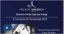 II Concierto de Temporada 2013. Concierto para Trompeta y Orquesta