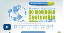 Primer seminario internacional de Movilidad Sostenible