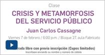 Crisis y metamorfosis del servicio público