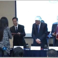 Ceremonioa de graduacion de la Tercera Cohorte del programa de chino mandarín