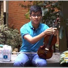 Estudiante de música: Alejandro Sierra