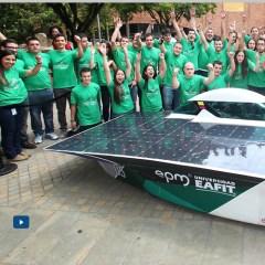El segundo vehículo solar EPM-EAFIT