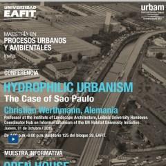 Hydrophilic urbanism The case of Sao Paulo