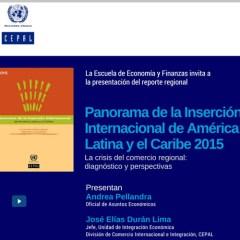 Panorama de la inserción de América Latina y el Caribe 2015