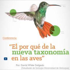 El por qué de la nueva taxonomía de las aves