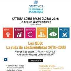 Cátedra Pacto Global. La Ruta de la Sostenibilidad 2016-2030