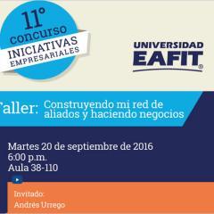 Taller IV – XI Concurso de Iniciativas Empresariales