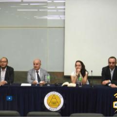 La presentación de los libros: Cómo se construyen los derechos y Eslabones del derecho