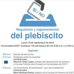 Magistrados del CNE conversaron sobre regulación y reglamentación del plebiscito
