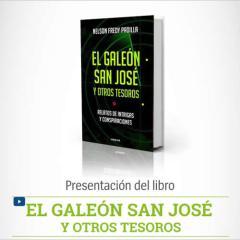 Presentación del libro «El Galeón San José y otros tesoros»