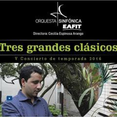 V Concierto de Temporada 2016. Tres grandes clásicos
