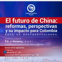 El futuro de China: reformas, perspectivas y su impacto para Colombia