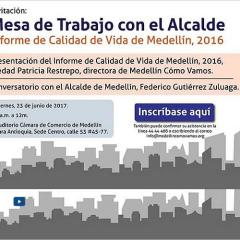 Informe de Calidad de Vida de Medellín, 2016