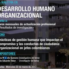 Prácticas de gestión humana que impactan el compromiso y las conductas de ciudadanía organizacional en jefes colombianos