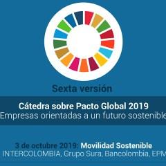 Movilidad Sostenible. Cátedra Pacto Global 2019