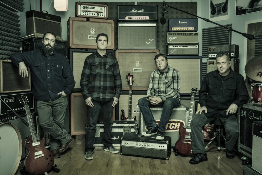 Clutch, banda referente del hard rock norteamericano agenda su debut  en Chile