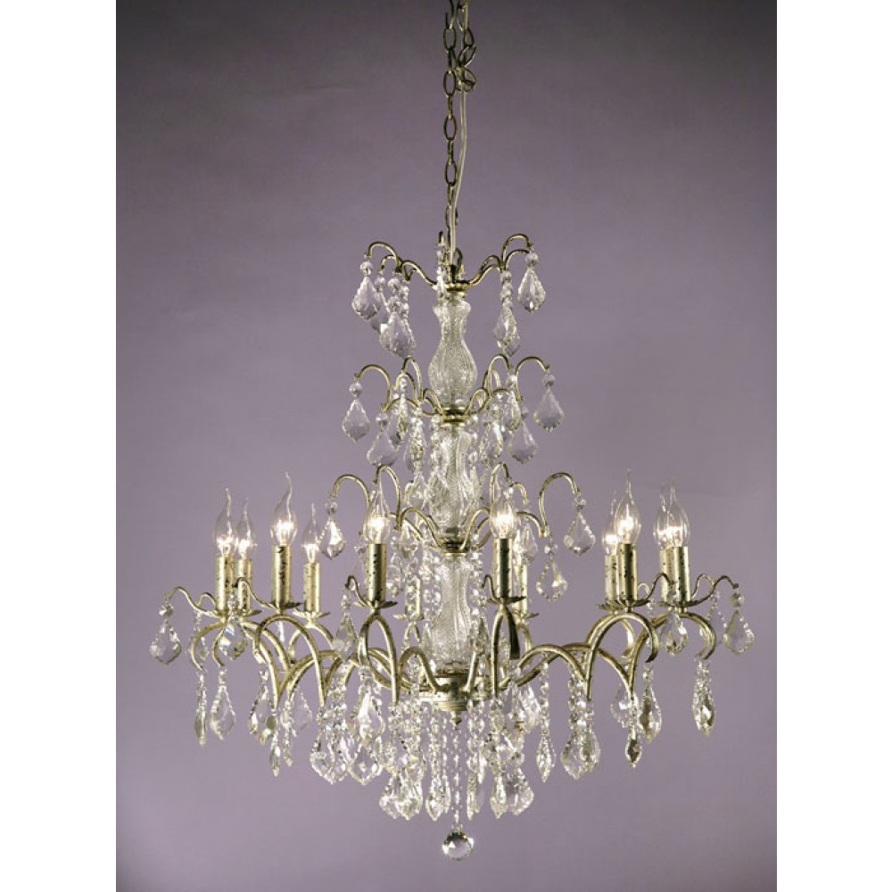 Charlotte glass crystal french silver 12 light chandelier en vogue charlotte glass crystal french silver 12 light chandelier en vogue homes aloadofball Image collections