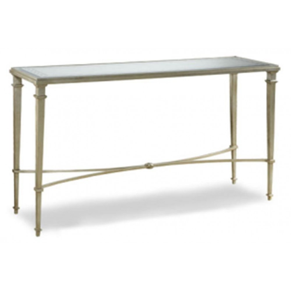 Slimline Console Table gin shu parisienne metal slim console table | en vogue homes