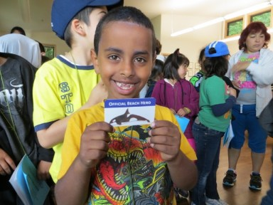 Bow Lake Elementary Beach Hero