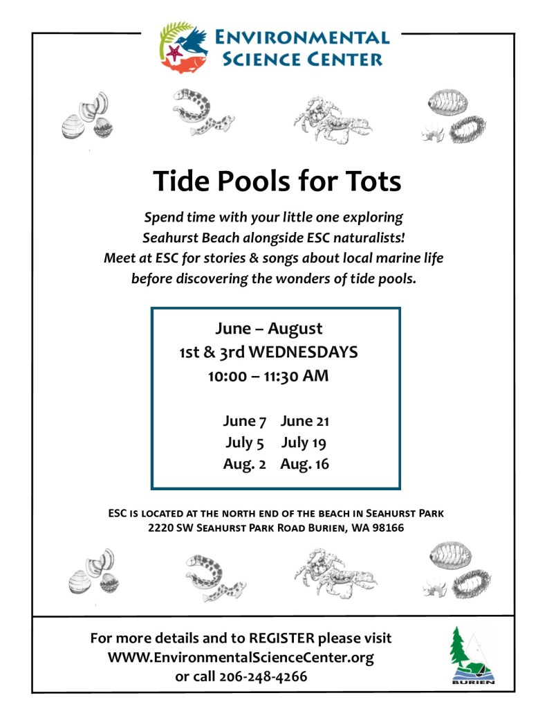 2017 Tide Pools for Tots