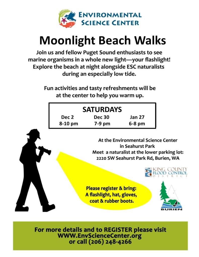 2017 Moonlight Beach Walk flyer