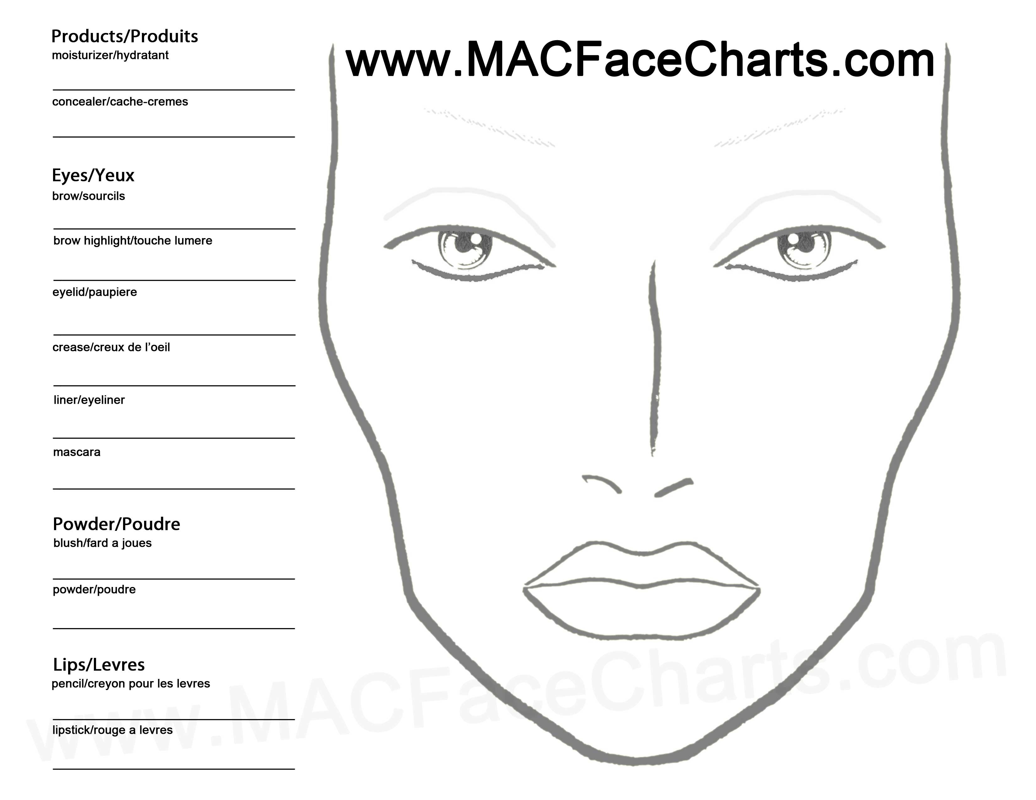 My Consultation Form Design And Make Up Plan