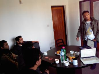 WordCamp Nepal 2014 Second Speaking Session
