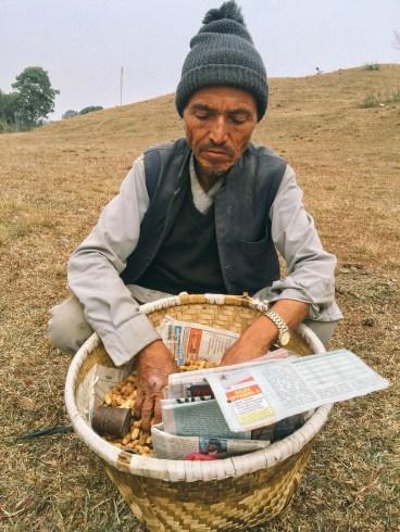 Buying Peanuts in Khokana