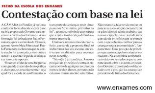 Artigo do Jornal do Fundão, Edição 2014/04/06