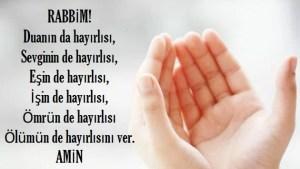 rabbim duanın da hayırlısı - rabbim duanın da hayırlısı,
