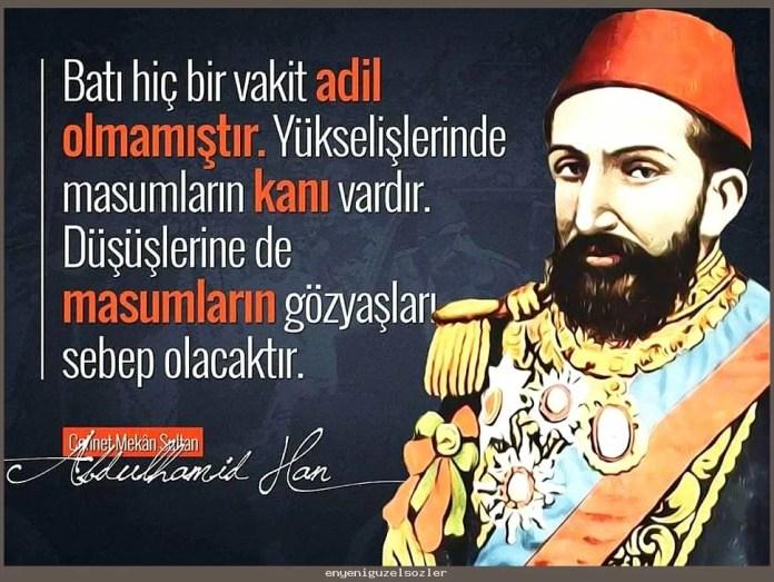 sultan ii abdulhamid hanin sozleri guzel sozler 1 - Sultan Abdülhamid'in Sözleri -  Resimli Sözleri, resimli-sozler, populer-sozler, anlamli-sozler