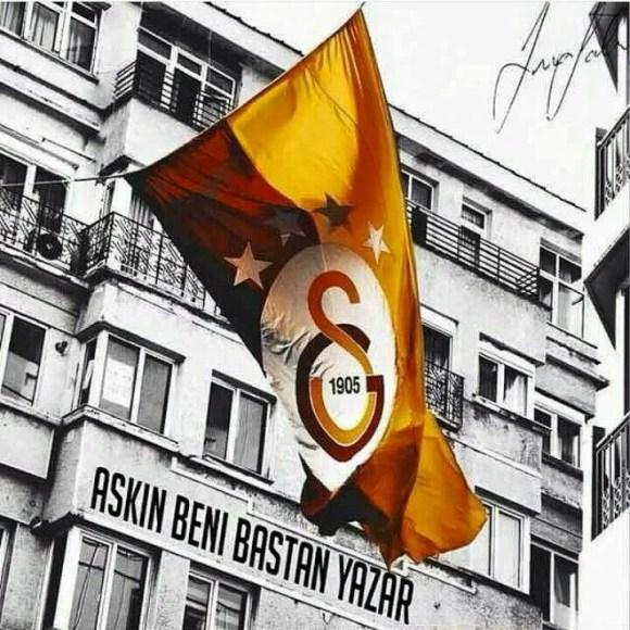Aşkın beni baştan yazar - Galatasaray İle İlgili Resimli Sözler - Galatasaray Sözleri Ve Kareografileri, resimli-sozler