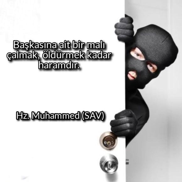 Başkasına ait bir malı çalmaköldürmek kadar haramdır 1024x1024 - Resimli Hz Muhammed (SAV) Sözleri - İslam Peygamberi Hz Muhammed Sözleri,Hz Muhammed Hadisleri, guzel-mesajlar, dini-sozler