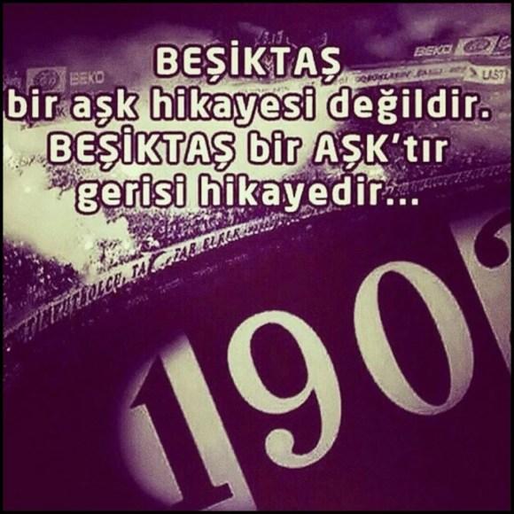 Beşiktaş bir aşk hikayesi değildir. Beşiktaş bir Aşktır gerisi hikayedir 1024x1024 - Beşiktaş İle İlgili Resimli Sözler - Beşiktaş Sözleri Ve Kareografileri, resimli-sozler