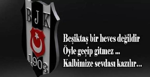Beşiktaş bir heves değildir öyle geçip gitmezkalbimize sevdası kazılır - Beşiktaş İle İlgili Resimli Sözler - Beşiktaş Sözleri Ve Kareografileri, resimli-sozler