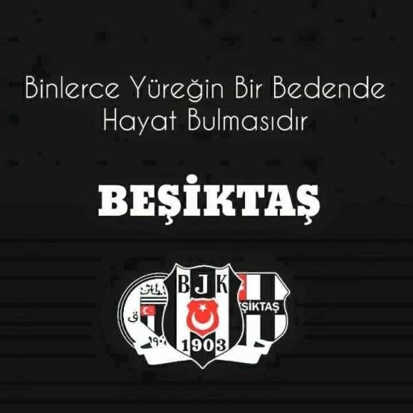 Binlerce yüreğin bir bedende hayat bulmasıdır Beşiktaş - Beşiktaş İle İlgili Resimli Sözler - Beşiktaş Sözleri Ve Kareografileri, resimli-sozler