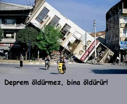 Deprem öldürmez bina öldürür - Deprem İle İlgili Sözler - Deprem Sözleri, Acı Sözler, Üzgün Anlar, guzel-mesajlar, anlamli-sozler