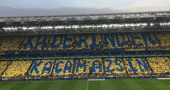 Kaderinden kaçamazsın - Fenerbahçe İle İlgili Resimli Sözler - Fenerbahçe Sözleri Ve Kareografileri, resimli-sozler