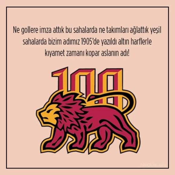 Ne gollere imza attık bu sahalarda ne takımları ağlattık yeşil sahalarda bizim adımız 1905 de yazıldı altın harflerle kıyamet zamanı kopar aslanın adı - Galatasaray İle İlgili Resimli Sözler - Galatasaray Sözleri Ve Kareografileri, resimli-sozler