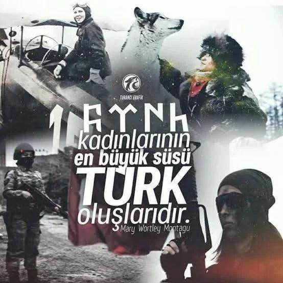 Türk kadınlarının en büyük süsü Türk oluşlarıdır - Ülkücü İle İlgili Resimli Sözler - Ülkücü Sözleri, Milliyetçilik, Türk Sözleri, resimli-sozler, populer-sozler, guzel-mesajlar, anlamli-sozler