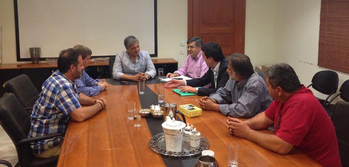 Συνάντηση δημάρχου με Σωματείο Εργαζομένων