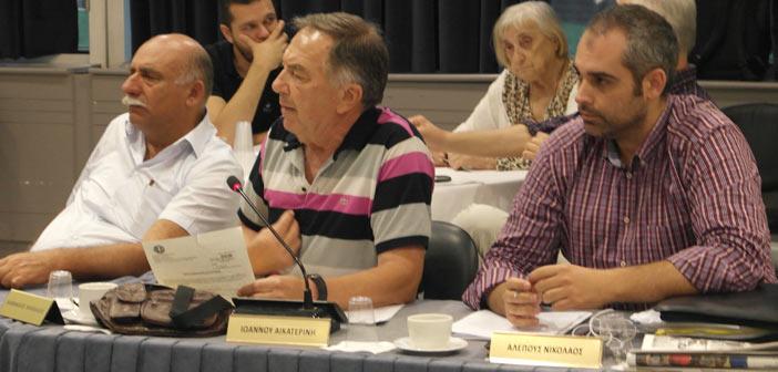 Έκτακτη συνεδρίαση του Δημ. Συμβουλίου Αμαρουσίου για τον θάνατο του Ν. Κάββαλου
