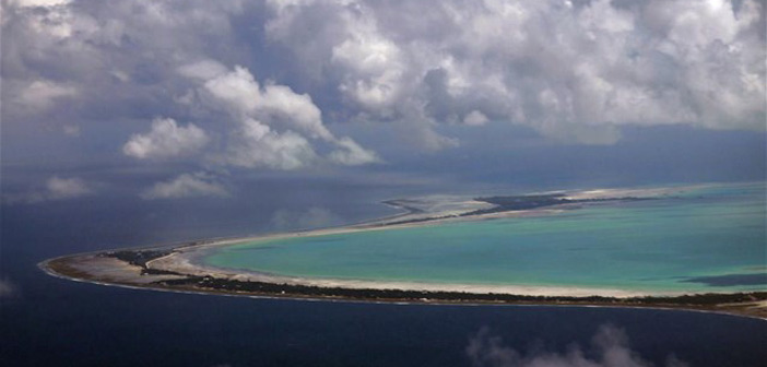 Ειρηνικός: Ένα νησί εξαφανίζεται κάτω από τα κύματα!