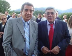 Ο Κ. Τίγκας και ο Ν. Μιχαλολιάκος σε κοινωνική εκδήλωση